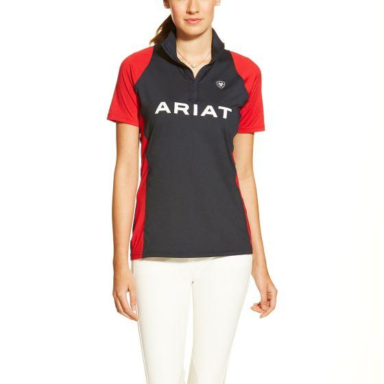 Ariat Ladies Team Cambria 1/4 Zip Navy