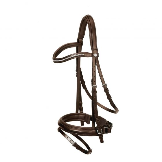 Schocklemohle Paris Bridle with Reins Brown