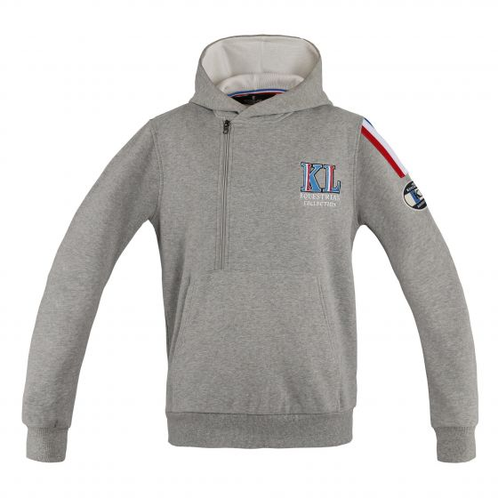 Kingsland Ladies Cameron Sweat Hoodie Grey