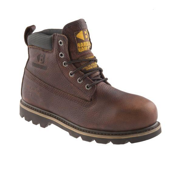 Buckler Steel Toe/Midsole Boot Brown B750SMWP