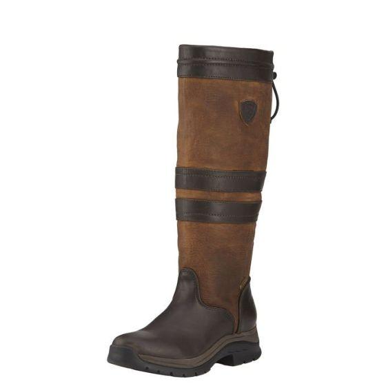 Ariat Ladies Braemar GTX Country Boots Ebony