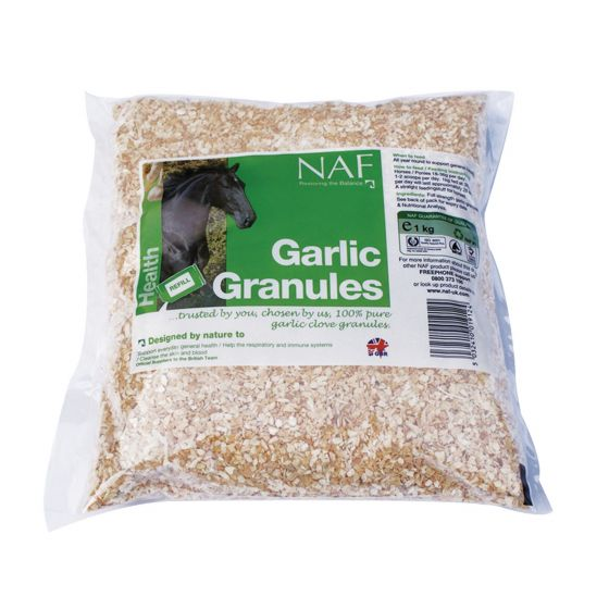 NAF Garlic Granules Refill 1 kg
