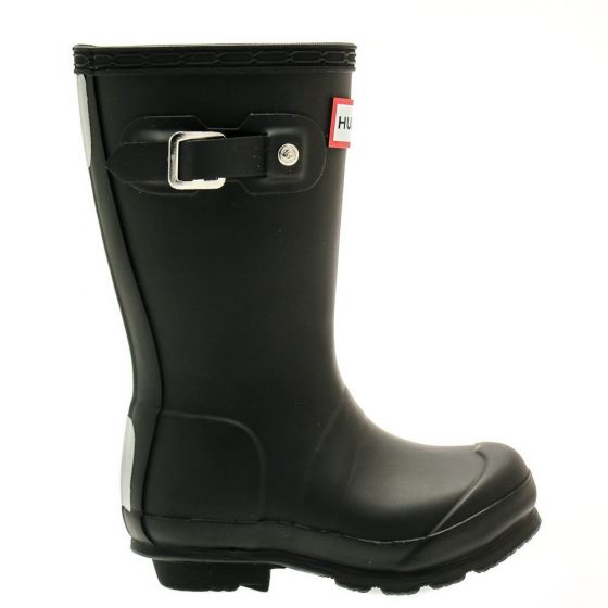 Hunter Kids Original Wellington Boots Black