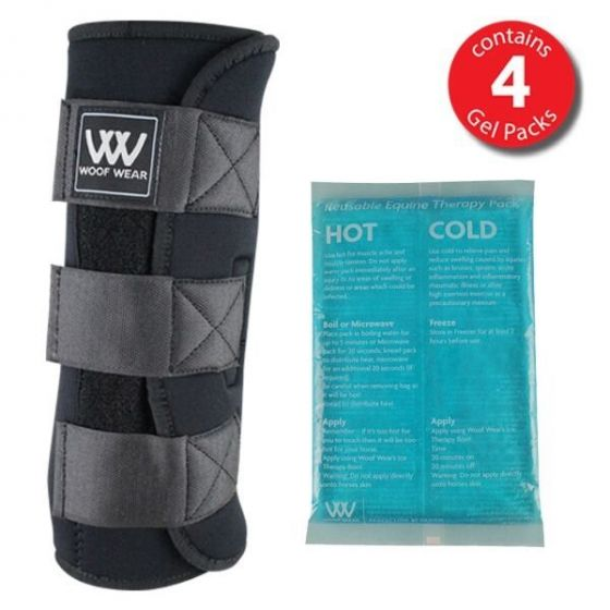 Woof Wear Ice Therapy with Gel Packs