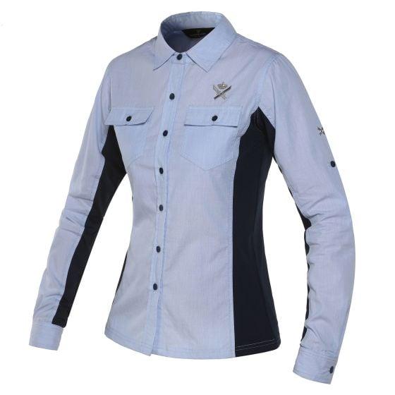 Kingsland Ladies Ailin Shirt Blue Heather
