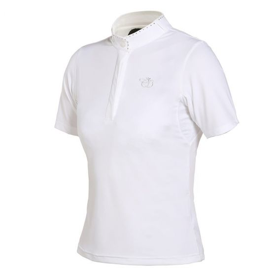 Kingsland Ladies Charlotte Dujardin Cinaed Show Shirt White