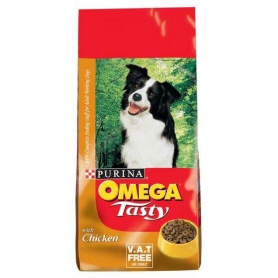 Omega Tasty Chicken Dog Food 15kg