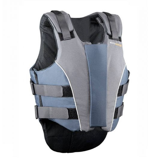 Airowear Ladies Showjumper Outlyne Body Protector Navy / Grey