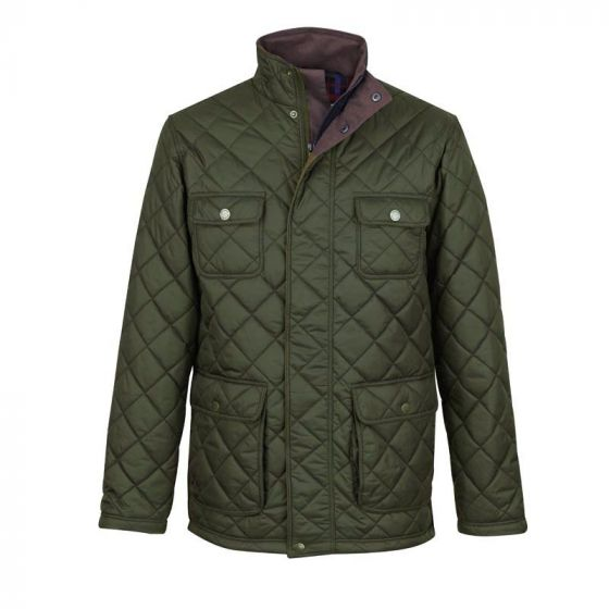 Jack Murphy Mens Bill Quilted Jacket Weather For Ducks