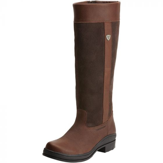 Ariat Ladies Windermere H2O Country Boots Dark Brown