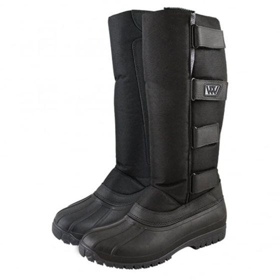 Woof Wear Junior Long Yard Boot Black