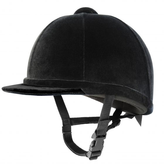 Charles Owen Young Riders Riding Hat Black