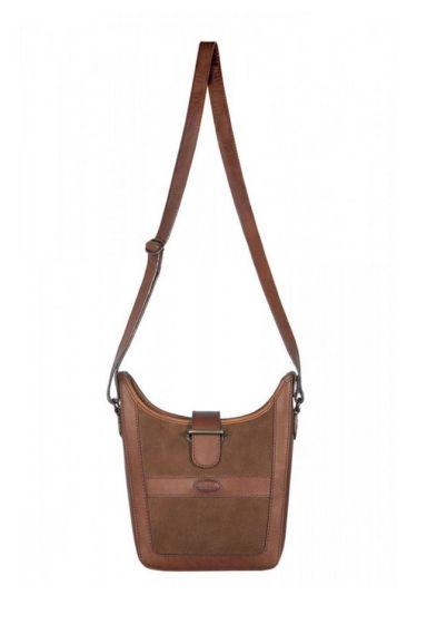 Dubarry Ladies Powerscourt Shoulder Bag Walnut