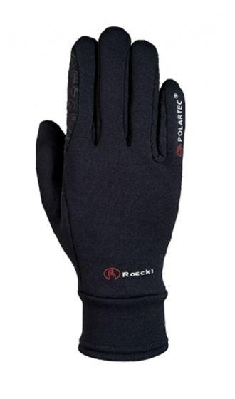 Roeckl Warwick Polartec Riding Gloves Black