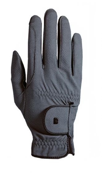 Roeckl Chester Riding Gloves Grey