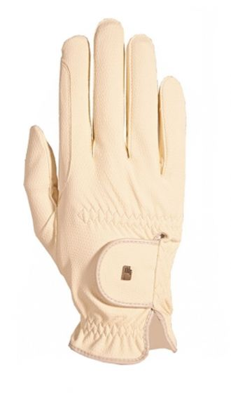 Roeckl Chester Riding Gloves Ivory