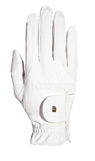 Roeckl Chester Riding Gloves White