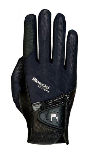 Roeckl London (Madrid) Riding Gloves Black
