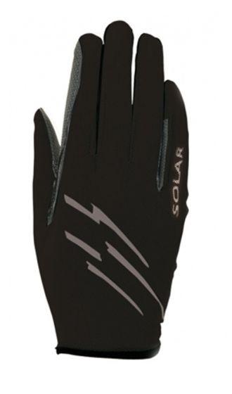 Roeckl Solar Riding Gloves Black