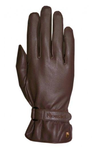 Roeckl Junior Suprema Riding Gloves Brown