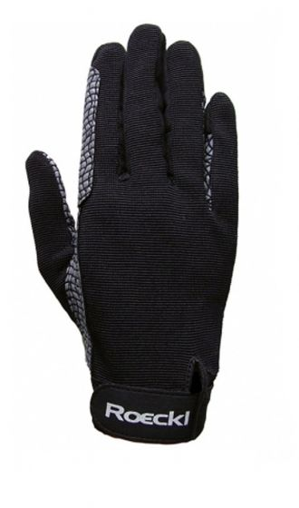 Roeckl Cross Country Riding Gloves Black