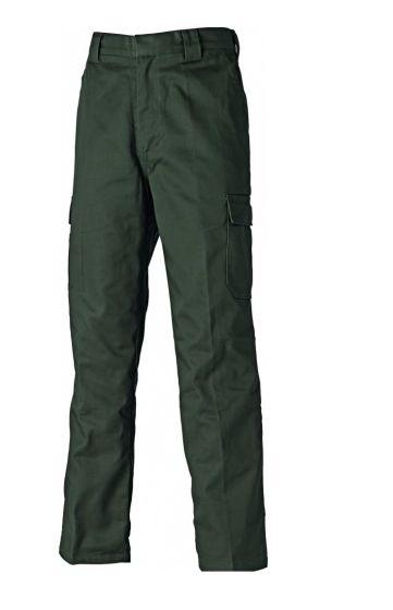 Dickies Marston Lined Trousers Dark Moss