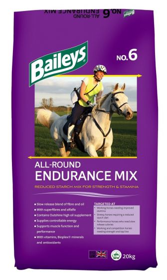 Baileys No.6 All Round Endurance Mix Horse Feed 20kg