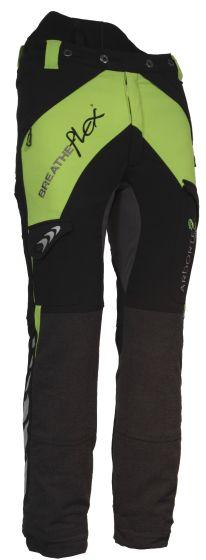 Arbortec Breatheflex Type A Class 1 Chainsaw Trousers Black & Lime