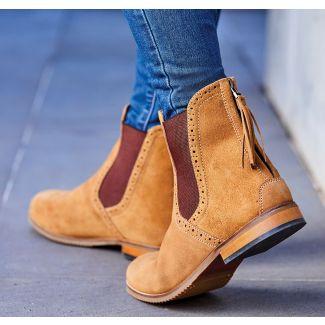 Dublin Ladies Kalmar SD Suede Paddock Boots