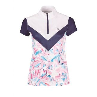 Dublin Ladies Orla Printed Colour Block Competition Shirt - Chelford Farm Supplies