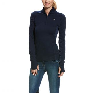 Ariat Ladies Lowell 2.0 1/4 Zip Top Navy