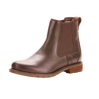 Ariat Ladies Wexford H2O Boots Cordovan
