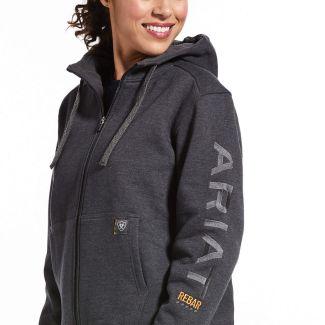 Ariat Ladies Rebar All-Weather Full Zip Hoodie