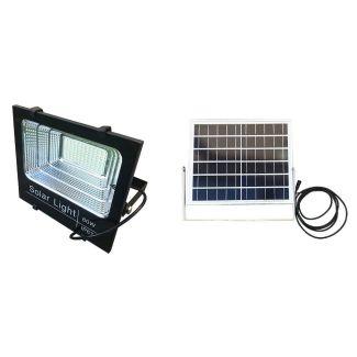 Gwaza 60W LED Solar Powered Floodlight - Cheshire, UK