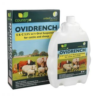 Country UF Ovidrench Oral Drench Wormer for Cattle & Sheep