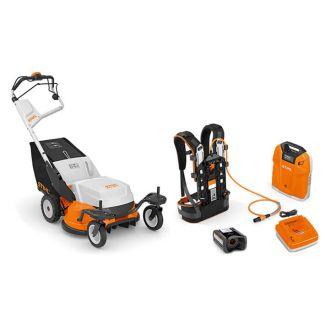 STIHL RMA 765 V Battery Cordless Lawn Mower Set