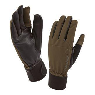 Sealskinz Mens Shooting Gloves Olive