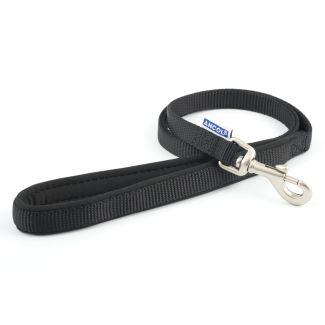 Ancol Heritage Nylon 1 metre Dog Lead Black