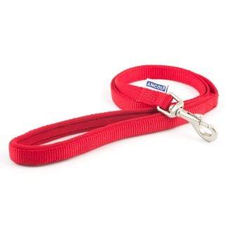 Ancol Heritage Nylon 1 metre Dog Lead Red