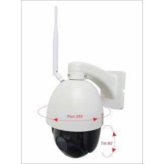 Gwaza Camera 2.0 MO High Speed Dome IP Wireless Camera - Cheshire, UK