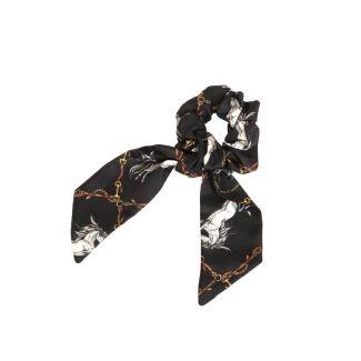 Clare Haggas Hold Your Horses Medium Silk Scrunchie | Chelford Farm Supplies