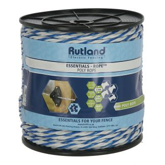 Rutland 6mm Maxi Electro-Rope White