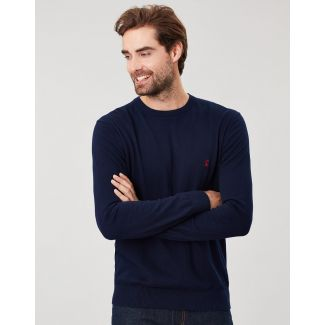 Joules Mens Jarvis Cotton Crew Neck Jumper