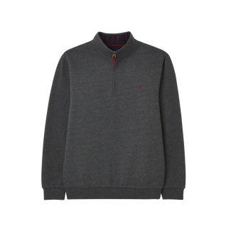 Joules Mens Drayton Quarter Zip Sweatshirt