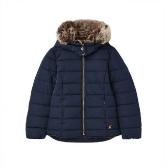 Joules Kids Girls Cassington Padded Coat - Chelford Farm Supplies