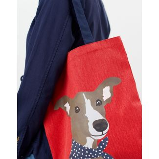 Joules Ladies Lulu Canvas Tote Shopper Bag
