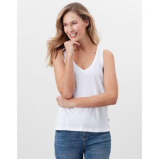 Joules Ladies Maya V Neck Jersey Vest
