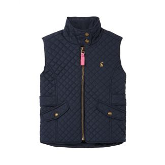 Joules Kids Girls Jilly Quilted Gilet
