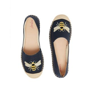 Joules Ladies Shelbury Embroidered Espadrilles