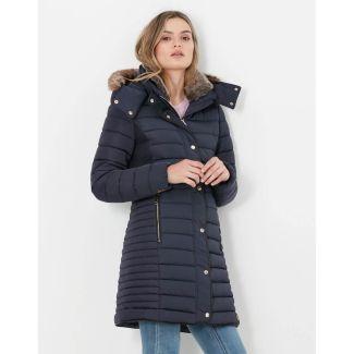 Joules Ladies Cherington Long Padded Coat